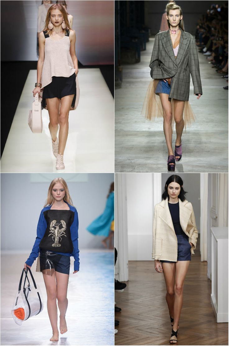 For that year, in preparation for the spring-summer season, many designers and fashion designers always include their collections such an original and stylish piece of women's wardrobe as shorts. Was...