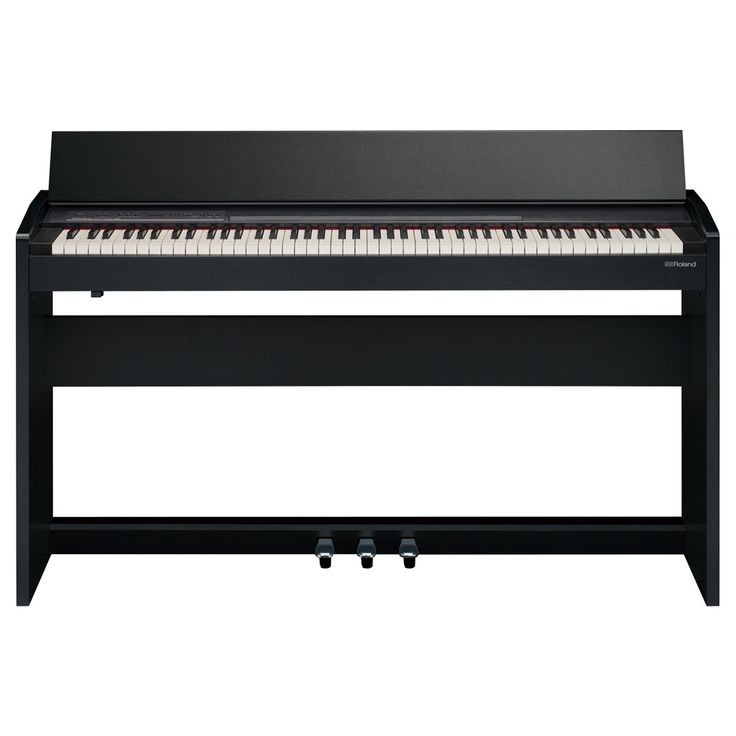 Roland F-140R 88 Key SuperNATURAL Digital Piano with Stand - Contemporary Black