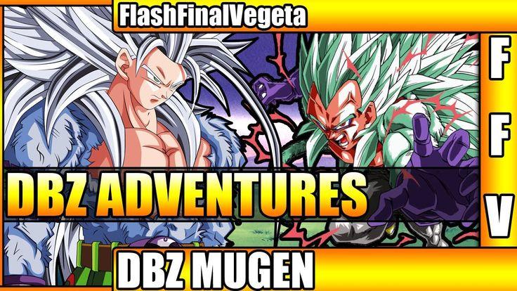 DragonBall Z Adventures Mugen Characters - SSJ 5 Vegeta SSJ 5 Goku Goget...