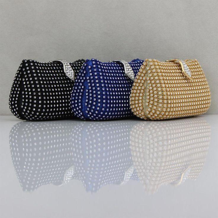 Elegant Crystal Mini Tote Bags