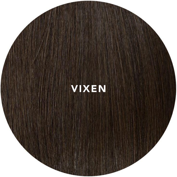 """""""VIXEN"""" Chocolate brown Hair extension"""