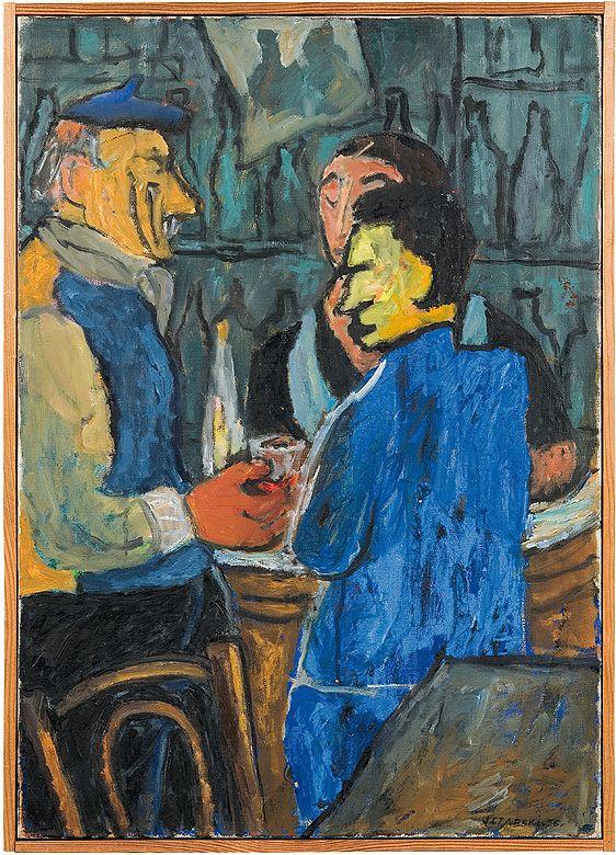 TOUT VA BIEN BAR 1956 - Józef Czapski (1896 - 1993)