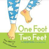 One Foot, Two Feet  counting book for irregular plural nouns