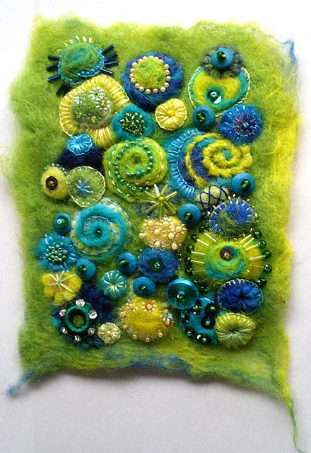 felted by bostinstuff, via Flickr