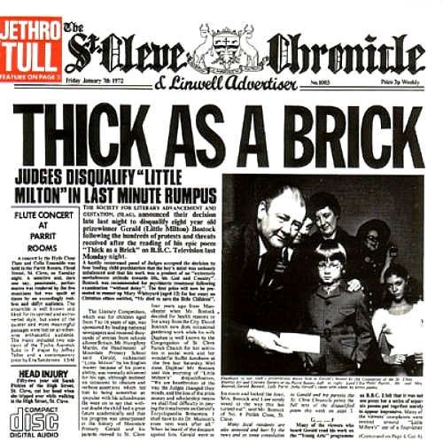 Jethro Tull ~ Thick as Brick