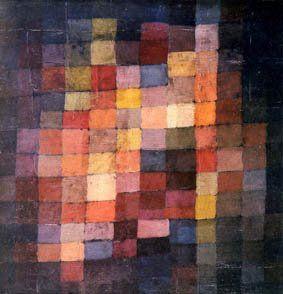 L'EAU QUI PARLE: Paul Klee