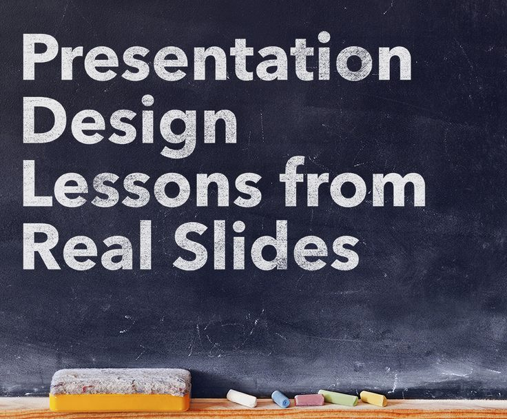 Slide Makeovers: #Presentation Design #Lessons from Real Slides