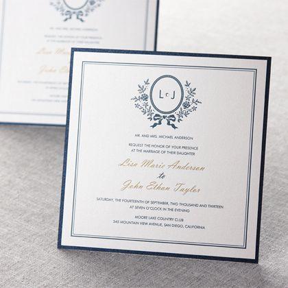 Old-Fashioned Romance II by B Wedding Invitations
