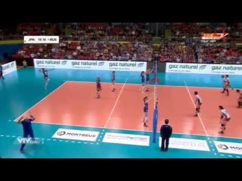 Japan vs Russia | Semifinals | 2015 Montreux Volley Master