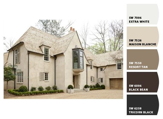 137 best images about paint on pinterest exterior for Most popular stucco colors