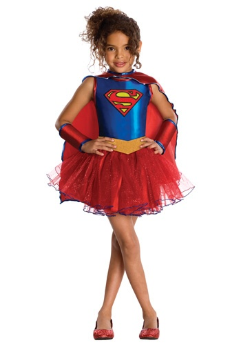 Kid's Supergirl Tutu costume #Halloween #Girls