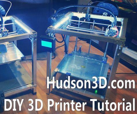 DIY 3D Printer Build Video Tutorial - All