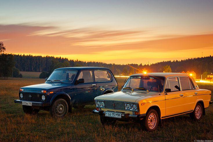 Lada Niva and Lada 1600