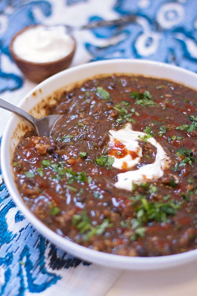 spicy black bean stew w turkey black bean stew black beans turkey stew ...