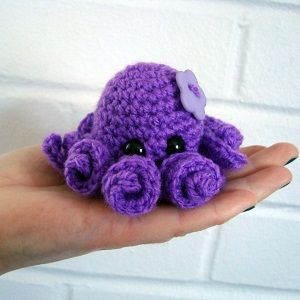 Octopus! Amigurumi (and a few other patterns)