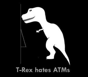 T-Rex hates ...