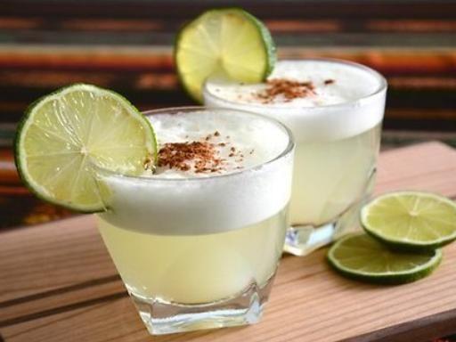 Pisco sour (recette péruvienne) - Recette de cuisine Marmiton : une recette