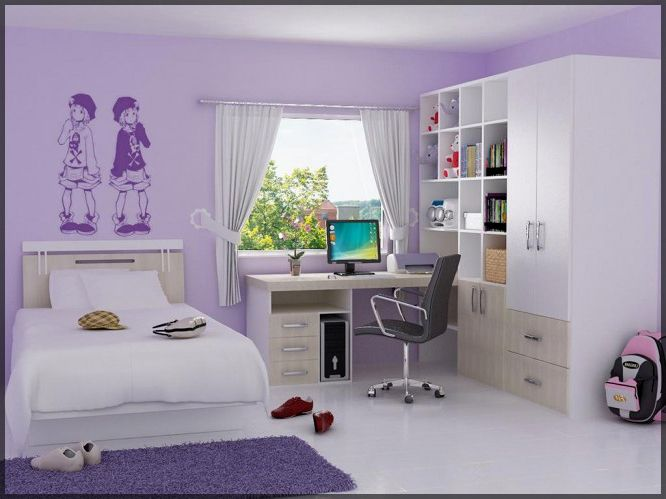 Anime wall art for teen girl 39 s room dream home for Japanese bedroom designs pictures