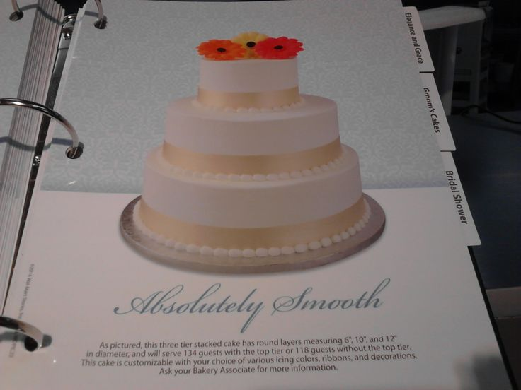 wal mart cake book spring 2014 walmart wedding cakes pinterest