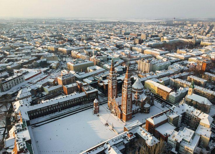 Havas télvége Szeged - Hungary Ötvös Sándor fotója