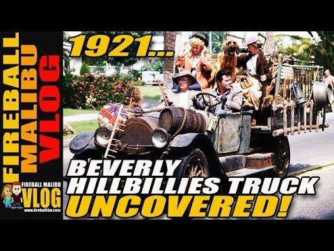 BEVERLY HILLBILLIES 1921 TRUCK DISCOVERED! - FIREBALL MALIBU VLOG 733 http://www.fireballtim.com