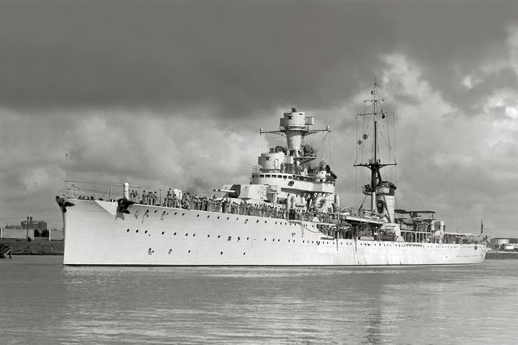 Armando Diaz was a light cruiser of the Condottieri class and the sister-ship of the Luigi Cadorna. She served in the Regia Marina during World War II.