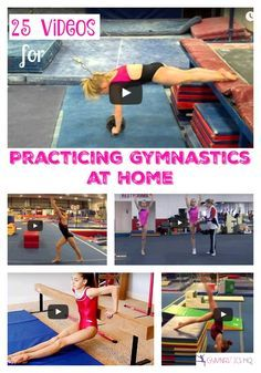 25 Videos for Practicing Gymnastics at Home