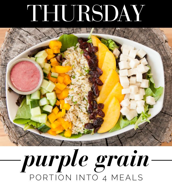 More like Purple Rain: http://www.thecoveteur.com/vegan-healthy-lunch-ideas/: Grains Salad, Blueberries Vinaigrette, Clean Eating Salad, Food Healthy Party'S Specialty, Vegans Blueberries, Lunches Bowls, Baby Salad, Healthy Lunches, Healthy Lunch Ideas