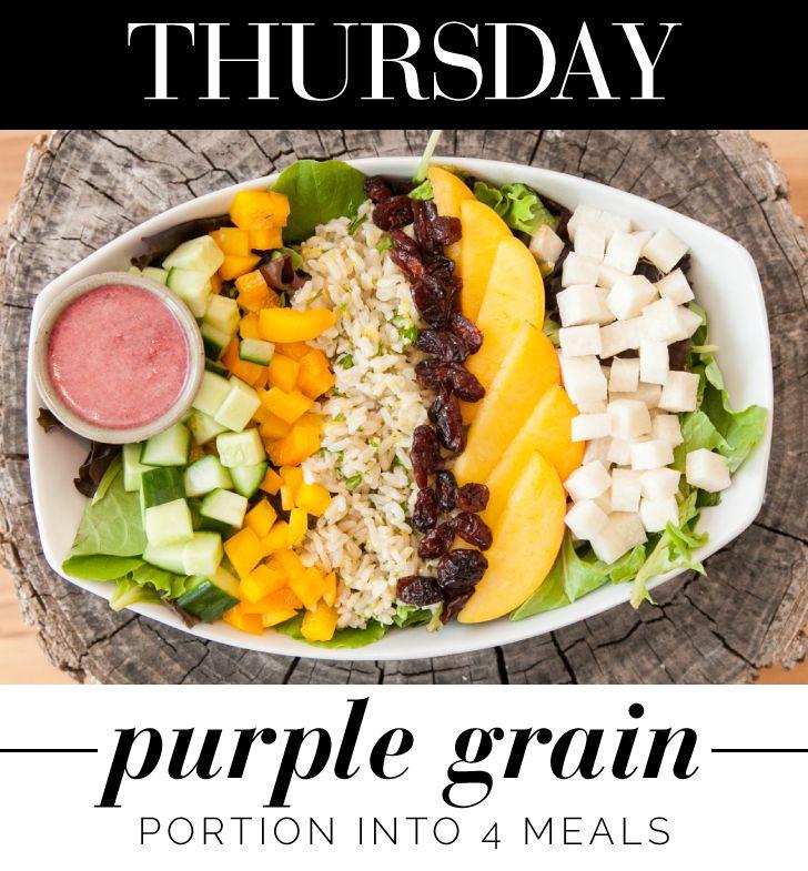 More like Purple Rain: http://www.thecoveteur.com/vegan-healthy-lunch-ideas/