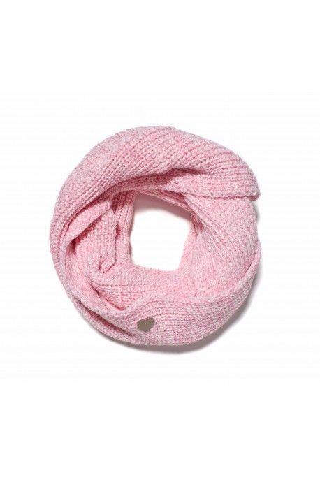 Femi Pleasure snood SAL light pink