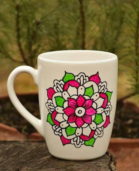 Check out this item in my Etsy shop https://www.etsy.com/listing/269951459/handpainted-mandala-cup-painted-ceramic