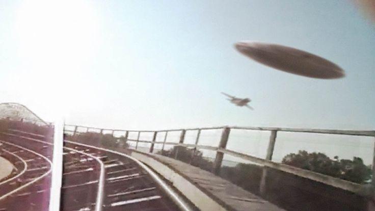 Un supuesto OVNI fue filmado sobre un parque de diversiones en el estado de Maryland, Estados Unidos. En el vídeo en el cuestión compartido por section51-u