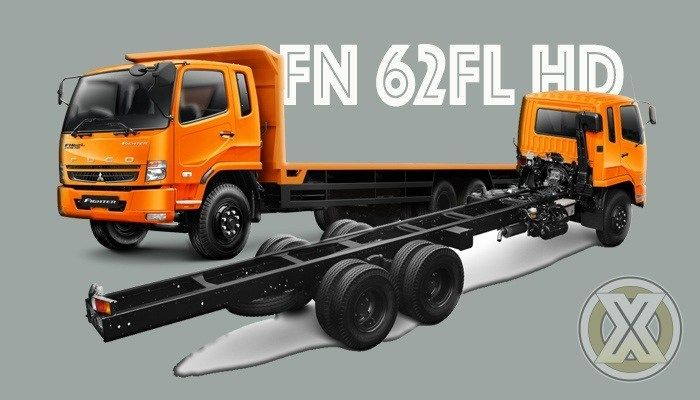 Spesifikasi Mitsubishi Fuso Fighter Fn 62fl Hd Truk Transportasi