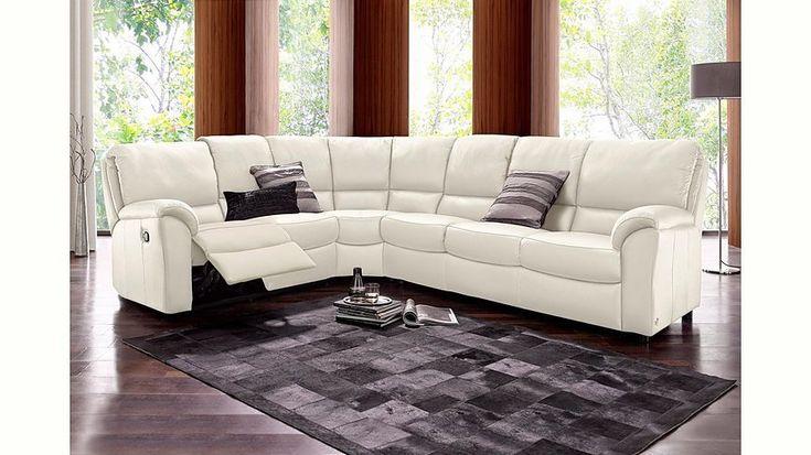 die besten 25 ecksofa leder ideen auf pinterest ecksofa aus leder ledersofas und ledercouch. Black Bedroom Furniture Sets. Home Design Ideas
