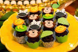 Resultado de imagem para bolos decorados tema safari