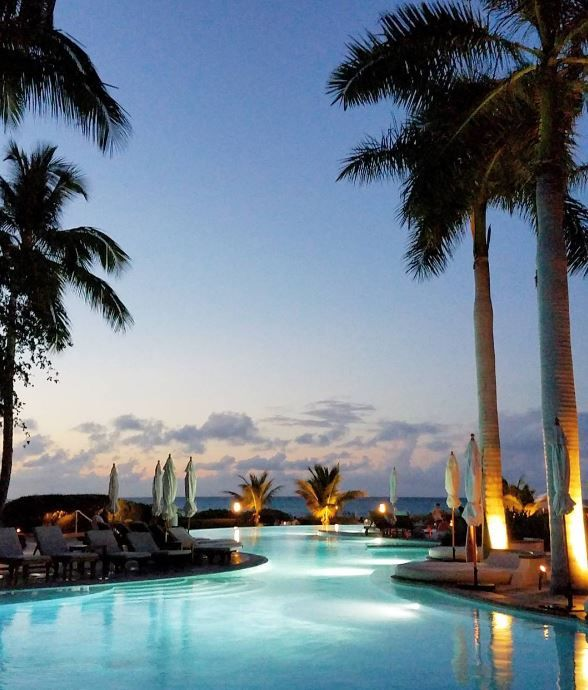 The Palms, on Grace Bay Turks & Caicos, is a perfect choice if you're looking for full service beachfront luxury and pampering.