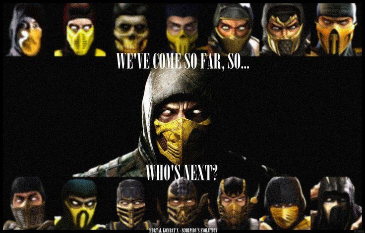Scorpion mk x mobile wallpaper - Mortal Kombat Wallpapers | Mobile mortal kombat wallpapers hd images and more