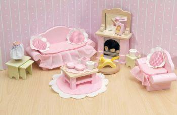 LE TOY VAN ΞΥΛΙΝΟ ΣΑΛΟΝΙ ROSEBUD ME058 (#228874) | Perfect Toys - Πανταζόπουλος
