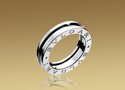 gojee white gold ring by bulgari