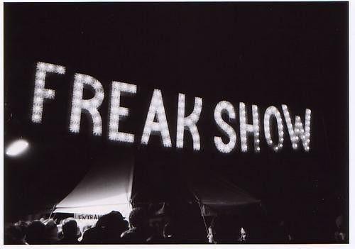 freak show   vintage circus.