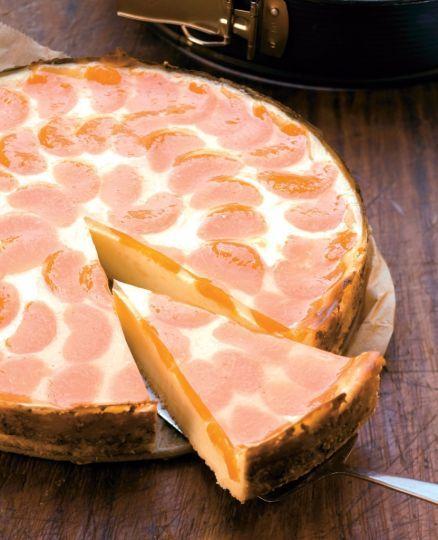 Mandarínkový cheesecake | Recepty.sk