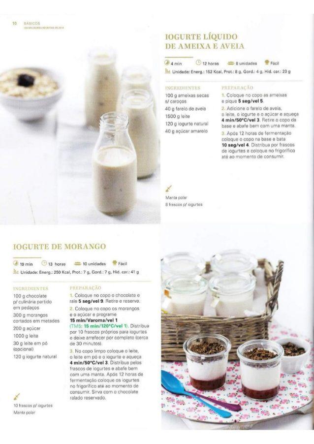 Iogurte de ameixa e aveia 150 receitas Bimby (melhores de 2014)