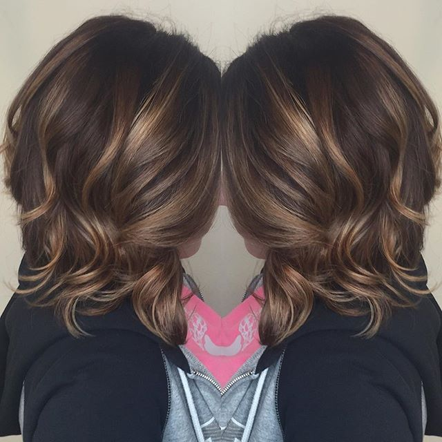 BALAYAGE ➕ DRAMATIC BOB • • • #salonhalobettendorf #hair #bettendorf #quadcities…