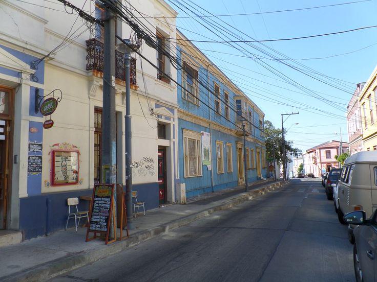 Valparaíso, calle del Cerro Alegre