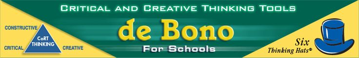 Intro to free resources from de Bono for Schools and The Opportunity Thinker