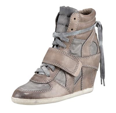 Sneaker wedges - love these