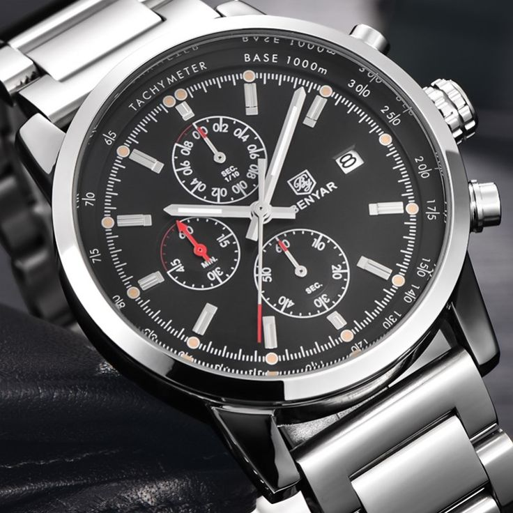 Relogio Masculino BENYAR Fashion Chronograph Sport Men Watches Top Brand Luxury Military Stainless Steel Quartz Watch Clock 2016     Tag a friend who would love this!     FREE Shipping Worldwide     Get it here ---> https://shoppingafter.com/products/relogio-masculino-benyar-fashion-chronograph-sport-men-watches-top-brand-luxury-military-stainless-steel-quartz-watch-clock-2016/