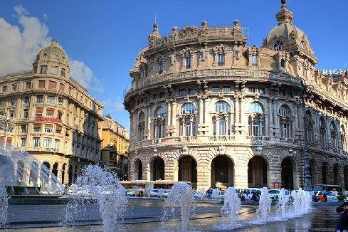 #42. Genova, le Strade Nuove e il complesso dei Palazzi dei Rolli/ Old Town of GENOVA and The Palazzi dei Rolli