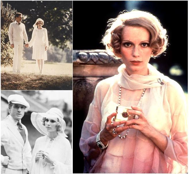 The Great Gatsby 1974 | Robert Redford and Mia Farrow as Gatsby and Daisy Buchanan