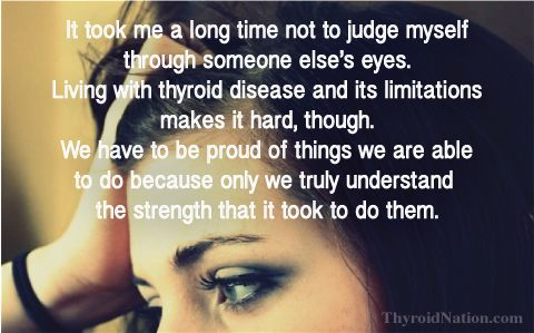 Don't JUDGE. You never know what is going on with someone else.   http://thyroidnation.com/for-you-share-memes/ Thyroid, Health, Support, Hypothyroidism